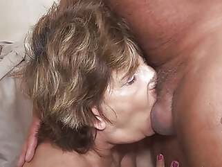 amateur deepthroat with 79 year old mom anal blowjob