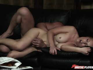 fucking daddy behind moms back with tommy gunn and kayden kross Fucking Daddy Behind Moms Back With Tommy Gunn And Kayden Kross