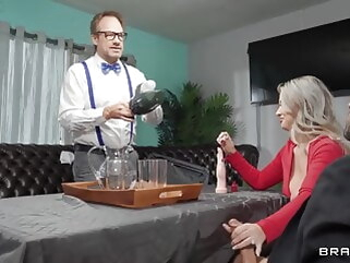 blonde Emily Right - My Pussy Deserves A Patent blowjob close-up